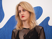 Director and screenwriter Fien Troch at the Home film photocall at the 73rd Venice Film Festival, Sala Grande on Saturday September 3rd 2016, Venice Lido, Italy.