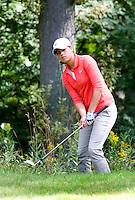 DEN DOLDER - Maaike Naafs tijdens het NK Strokeplay golf op Golfsocieteit  De Lage Vuursche. COPYRIGHT KOEN SUYK