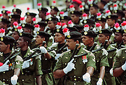 Military parade in Colombo, Sri Lanka