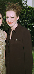 Debutante MISS IMOGEN POOLE-WARREN at a fashion show in London on April 7th 1997.LXK 19 WORO
