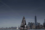 IMOCA Ocean Masters. New York - Barcelona Race start. Pictures of Neutrogena skippered by Guillermo Altadill (ESP) & Jose Munoz (Chile)<br /> Credit: Mark Lloyd/Lloyd Images