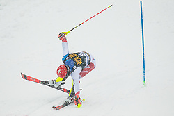 Meillard Loic (SUI) during the Audi FIS Alpine Ski World Cup Men's  Slalom at 60th Vitranc Cup 2021 on March 14, 2021 in Podkoren, Kranjska Gora, Slovenia Photo by Grega Valancic / Sportida