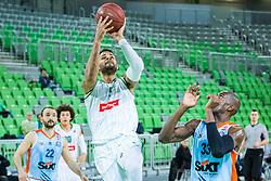 Devin Oliver during basketball match between KK Petrol Olimpija and KK Sixt Primorska in Playoffs of Liga Nova KBM, on March 30, 2018 in Arena Stozice, Ljubljana, Slovenia. Photo by Ziga Zupan / Sportida