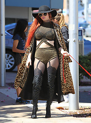 Photo by: gotpap/starmaxinc.com<br />STAR MAX<br />Copyright 2017<br />ALL RIGHTS RESERVED<br />Telephone/Fax: (212) 995-1196<br />3/23/17<br />Phoebe Price is seen in Los Angeles, CA.