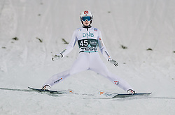 09.03.2020, Lysgards Schanze, Lillehammer, NOR, FIS Weltcup Skisprung, Raw Air, Lillehammer, Herren, im Bild Marius Lindvik (NOR) // Marius Lindvik of Norway during men's 2nd Stage of the Raw Air Series of FIS Ski Jumping World Cup at the Lysgards Schanze in Lillehammer, Norway on 2020/03/09. EXPA Pictures © 2020, PhotoCredit: EXPA/ JFK