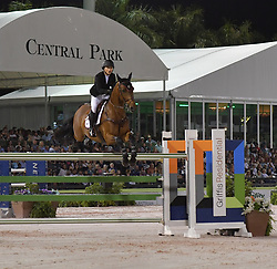 March 9, 2019 - Wellington, Florida, United States Of America - WELLINGTION, FL - MARCH 09: SATURDAY NIGHT LIGHTS: Georgina Bloomberg participates The highlight event of week 9 at the 2019 Winter Equestrian Festival, the $391,000 Douglas Elliman Real Estate Grand Prix CSI 5*. The Winter Equestrian Festival (WEF) is the largest, longest running hunter/jumper equestrian event in the world held at the Palm Beach International Equestrian Center on March 09, 2019  in Wellington, Florida..People:  Georgina Bloomberg. (Credit Image: © SMG via ZUMA Wire)