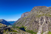 Above Trollstigen, Norway - August