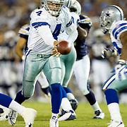 Richard Bartel, backup quarterback with the Dallas Cowboys