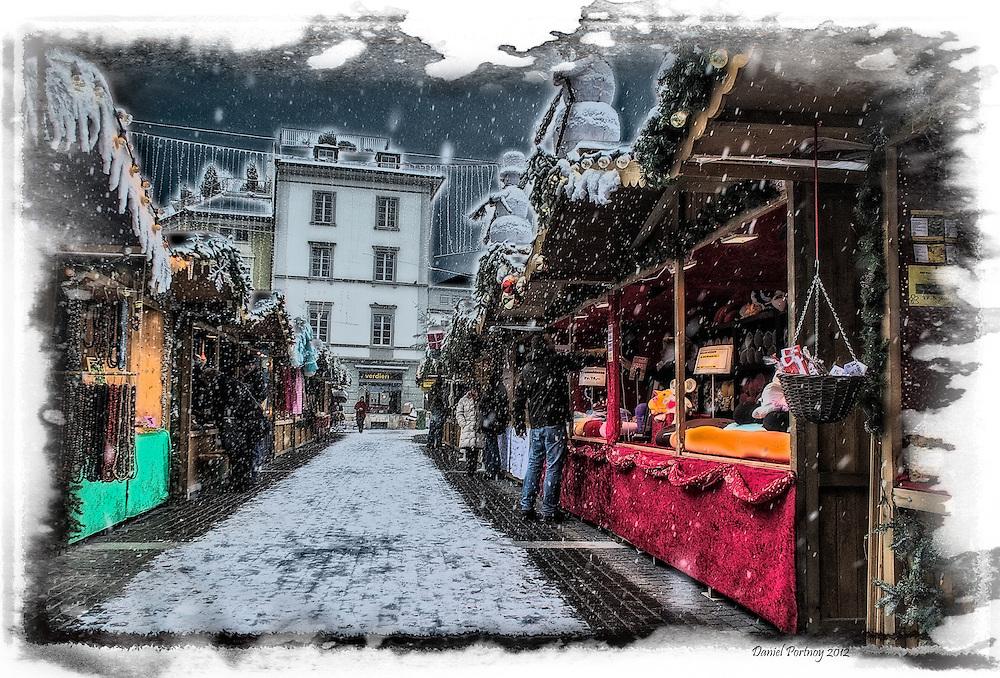 Christmas market in Winterthur
