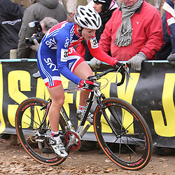 HUYBERGEN (NED) veldrijden <br />WK 2008-2009<br />Gabby Durrin