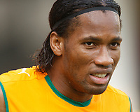 Photo: Steve Bond/Richard Lane Photography.<br />Ivory Coast v Benin. Africa Cup of Nations. 25/01/2008. Didier Drogba of Chelsea and Ivory Coast