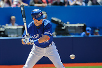 May 23 2015: Toronto Blue Jays Infield Steve Tolleson (18) [7194] batting against Seattle Mariners in the fifth inning against Seattle Mariners  at Rogers Centre
