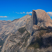 Half Dome And Clouds Rest - Glacier Point View - Yosemite