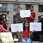 Pakistani Protest to end violence against women in India and Pakistan