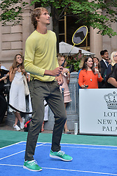 August 23, 2018 - New York, NY, USA - August 23, 2018  New York City..Alexander Zverev attending the 4th Annual Palace Invitational at the Lotte Palace Hotel on August 23, 2018 in New York City. (Credit Image: © Kristin Callahan/Ace Pictures via ZUMA Press)