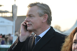 MARTIN CLUNES at the 2014 Hennessy Gold Cup at Newbury Racecourse, Newbury, Berkshire on 29th November 2014.  The Gold Cup was won by Many Clouds ridden by Leighton Aspell.