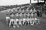 02/11/1969<br /> 11/02/1969<br /> 2 November 1969<br /> Oireachtas Hurling Final: Cork v Kilkenny at Croke Park, Dublin.<br /> The Cork team.