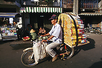 """Incense transport, Saigon, Vietnam<br /> Available as Fine Art Print in the following sizes:<br /> 08""""x12""""US$   100.00<br /> 10""""x15""""US$ 150.00<br /> 12""""x18""""US$ 200.00<br /> 16""""x24""""US$ 300.00<br /> 20""""x30""""US$ 500.00"""