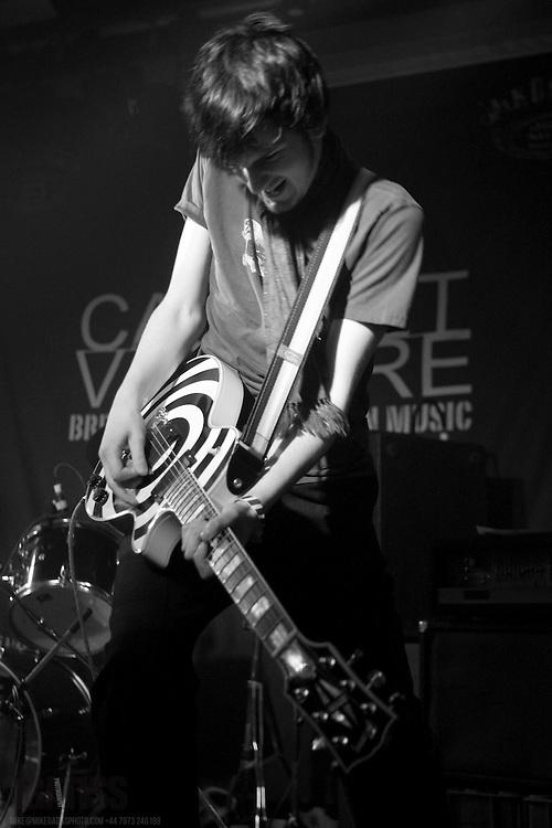 Lewis Cook of Warped Memories performing live at Cabaret Voltaire, Edinburgh, Scotland November 14 2007