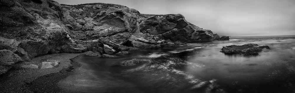 On the Shores of Headland Cove at Point Lobos. Carmel, CA.