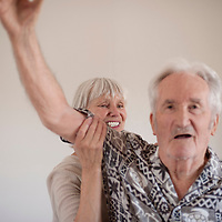 Elderly Home Therapy Session
