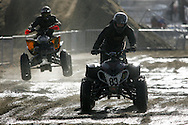 action from the Weston Beach Races 2006. racing is held on the beach at Weston Super Mare and takes place over two days. races for Quad bikes,solo riders annd junior riders take place.