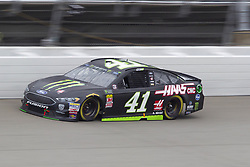 June 10, 2018 - Brooklyn, Michigan, U.S - NASCAR driver KURT BUSCH (41) comes out of turn four during the 50th Annual FireKeepers Casino 400 at Michigan International Speedway. (Credit Image: © Scott Mapes via ZUMA Wire)