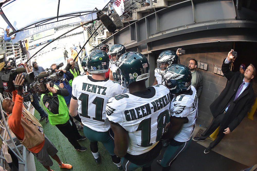 The Philadelphia Eagles lost to the Dallas Cowboys 28-23 at Metlife Stadium on November 6, 2016 in East Rutherford, Pennsylvania. (Photo by Drew Hallowell/Philadelphia Eagles)