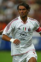 Milano 27/7/2004 Trofeo Tim - Tim tournament <br /> <br /> Paolo Maldini Milan<br /> <br /> <br /> <br /> Inter Milan Juventus <br /> <br /> Inter - Juventus 1-0<br /> <br /> Milan - Juventus 2-0<br /> <br /> Inter - Milan 5-4 d.cr - penalt.<br /> <br /> <br /> <br /> Photo Andrea Staccioli Graffiti
