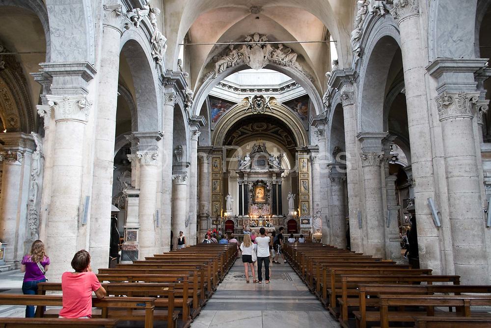 Santa Maria do Popolo Church, Rome, Italy.