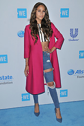 Skylar Stecker arrives at We Day California 2017 held at The Forum in Inglewood, CA on Thursday, April 27, 2017. (Photo By Sthanlee B. Mirador) *** Please Use Credit from Credit Field ***
