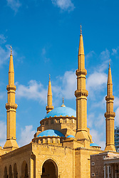 Mohammed al-Amin Mosque in Beirut, Lebanon