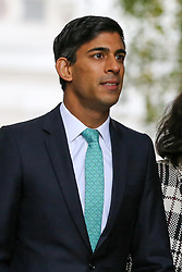 © Licensed to London News Pictures. 28/10/2019. London, UK. Chief Secretary to The Treasury RISHI SUNAK arrives in Downing Street. Later today MPs will vote on BORIS JOHNSON's motion on a general election in December 2019. Photo credit: Dinendra Haria/LNP
