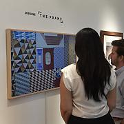 Samsung Frame at Sotheby's