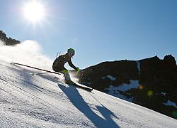 04.11.2011, Moelltaler Gletscher, Flattach, AUT, DSV Medientag, im Bild Lena Dürr in Action, Slalom  // During media day of German Ski Federation DSV at Moelltaler glacier in Flattach, Carinthia, Austria on 4/10/2011. EXPA Pictures © 2011, PhotoCredit: EXPA/ J. Groder