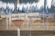 Octobre 2018. Macédoine. Bitola. Sur les traces du Front d'orient en Serbie et en Macédoine. Anniversaire des 100 ans de la fin de la première guerre mondiale 1914-1918. Cimetière français. Mémorial.