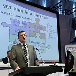 Belgium  - Brussels - 23 March 2010 - EU Sustainable Energy Week 2010 - Energy Technologies: The SET-Plan - from roadmaps to successful implementation - Stefan Tostmann, HoU of DG ENER C2© EC/CE