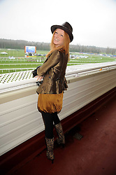 OLIVIA INGE at the 2008 Hennessy Gold Cup held at Newbury racecourse, Berkshire on 29th November 2008.<br /> <br /> NON EXCLUSIVE - WORLD RIGHTS