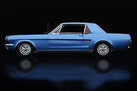 Every detail of the Ford Mustang GT can be found on this painting and will certainly surprise every car enthusiast.<br />