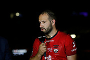 Frederic Michalak of Lyon during the French championship Top 14 Rugby Union semi-final match between Montpellier v Lyon OU on May 25, 2018 at Groupama stadium in Lyon, France - Photo Romain Biard / Isports / ProSportsImages / DPPI