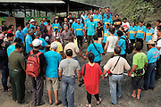 Blockades against the Baram Dam have been a huge success, after years of campaigning and protest, the  Baram Dam in Sarawak has now been shelved. Prayers at Baram blockade site. Baram Sarawak 2015<br /><br />The first of 12 mega-dam projects, was the Bakun Dam, which produced a reservoir of 700 sqkm, the size of Singapore, whose flooding began in 2010 and displaced around 10,000 Kenyah people, in Rajang and Belaga. The second phase at Murum would displace a further 24,000 native people, and Baram some 30,000. This huge development program has been overseen by Sarawak's former Chief Minister, Abdul Taib Mahmud, who is now under investigation by Malaysian authorities for corruption, and who has amassed a personal fortune of more than 35 billion US dollars. <br /><br />Borneo native peoples and their rainforest habitat revisited two decades later: 1989/1991 and 2012/2014/2015. <br /> <br /> Sarawak's primary rainforests have been systematically logged over decades, threatening the sustainable lifestyle of its indigenous peoples who relied on nomadic hunter-gathering and rotational slash & burn cultivation of small areas of forest to survive. Now only a few areas of pristine rainforest remain; for the Dayaks and Penan this spells disaster, a rapidly disappearing way of life, forced re-settlement, many becoming wage-slaves. Large and medium size tree trunks have been sawn down and dragged out by bulldozers, leaving destruction in their midst, and for the most part a primary rainforest ecosystem beyond repair. Nowadays palm oil plantations and hydro-electric dam projects cover hundreds of thousands of hectares of what was the world's oldest rainforest ecosystem which had some of the highest rates of flora and fauna endemism, species found there and nowhere else on Earth, and this deforestation has done irreparable ecological damage to that region
