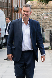 © Licensed to London News Pictures. 10/09/2019. London, UK. MP for South West Hertfordshire David Gauke walks in Westminster .  Photo credit: George Cracknell Wright/LNP