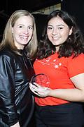 Margaret Coady, Coach with Step Up Inspiration Award honoree Kimberly Martinez