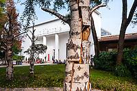 Italy, Venice. Art at the Venice Biennale.