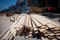 Rebuilding of Arena Bonifika for Eurobasket 2013 by AS-Primus d.o.o. on June 21, 2013 in Koper, Slovenia. (Photo by Vid Ponikvar / Sportida.com)