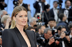 Doutzen Kroes attending the Solo: A Star Wars Story premiere at the 71st Cannes Film Festival.