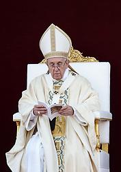 June 18, 2017 - Rome, Italy - POPE FRANCIS  celebrates Corpus Christ  (Credit Image: © Evandro Inetti via ZUMA Wire)