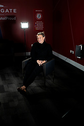 Tanya Oxtoby is interviewed as Bristol City Women appoint Matt Beard as their new Manager during the 2020/21 FA WSL Season, with Tanya Oxtoby taking maternity leave - Rogan/JMP - 14/01/2021 - Ashton Gate Stadium - Bristol, England.