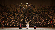 Pope Francis leads his general audience in Pope VI hall in Vatican City, March 16, 2013. Photograph by Todd Korol
