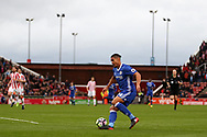 Ruben Loftus-Cheek of Chelsea in action.Premier league match, Stoke City v Chelsea at the Bet365 Stadium in Stoke on Trent, Staffs on Saturday 18th March 2017.<br /> pic by Andrew Orchard, Andrew Orchard sports photography.